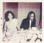 Adrienne & Randy Weiss wedding 1973