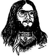 long hair sketch