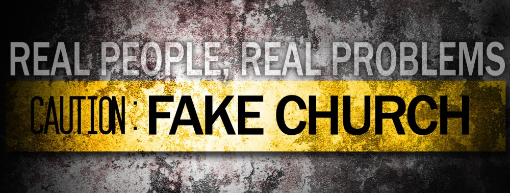 Fake Church Blog