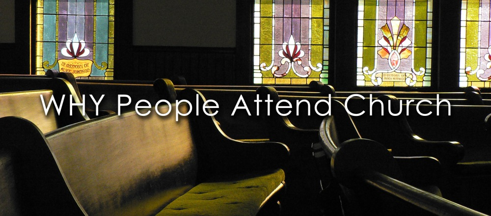 Why people Attend Church Blog image